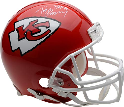 Tony Gonzalez Kansas City Chiefs Autographed Riddell Authentic Pro-Line Helmet with