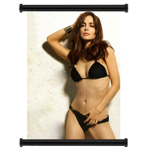 Eliza Dushku Sexy Hot Fabric Wall Scroll Poster  Inches