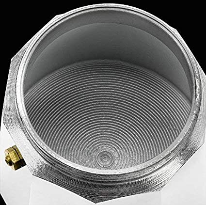 Monix M620003 Cafetera, Aluminio, Plata, 3 Tazas