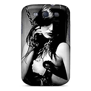 CfaFNrz2630beFEC WilliamMorrisNelson Awesome Case Cover Compatible With Galaxy S3 - Woman