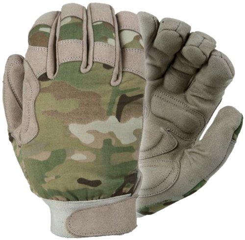 Damascus MX25M Nexstar III Medium Weight All Duty Military Gloves with Multi-Cam Camo, Multi-Cam, Small