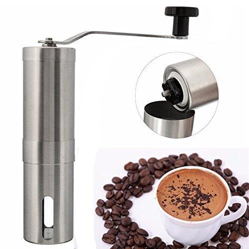 Coffee Bean Grinder Stainless Steel Hand Manual Handmade Grinder Mill Kitchen Grinding Tool