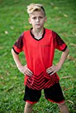 Soccer Jerseys for Kids Boys and Girls Shorts and