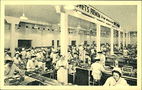 Vintage Advertising Postcard: Swifts Premium Bacon - Bacon Postcard
