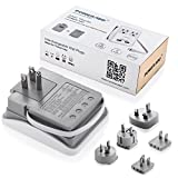 Poweradd-UL-Listed-2-Outlet-International-Travel-Charger-Power-AC-Adapter-with-Worldwide-UKUSAUEUJP-Plugs-Dual-Smart-USB-Ports-for-Business-Trip