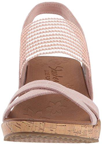 a Pink Punta Donna Aperta Sandali High Tea Beverlee Skechers wqpZ7If7