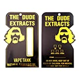 50 The Dude Extracts Shatter Labels Oil Distillate Plastic Blister Packaging