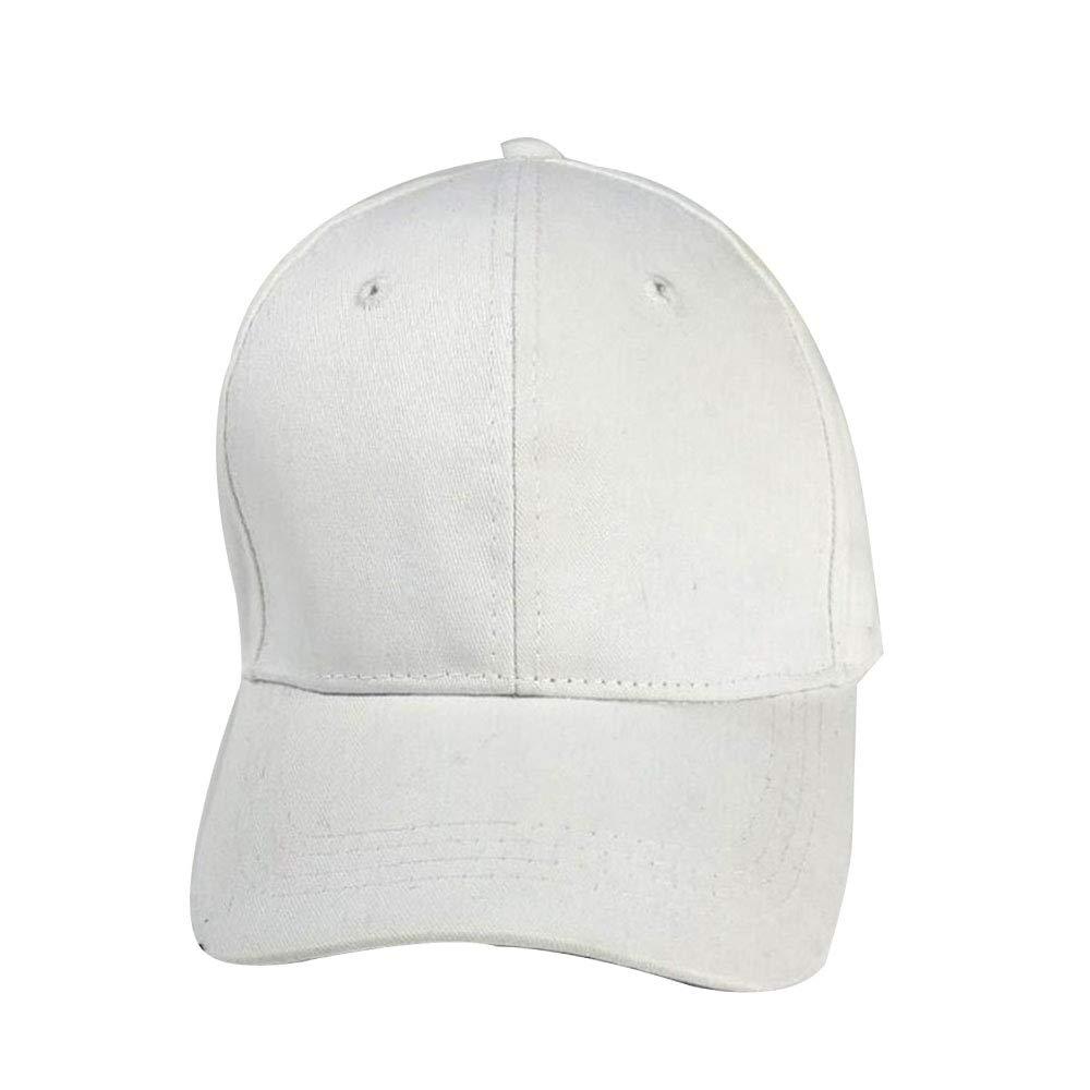 Cappello da Baseball con Visiera Parasole Cappello da Sole con Cappellino da Baseball,B