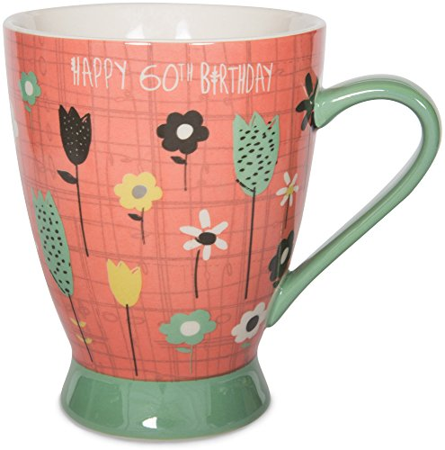 Pavilion-Gift-Company-74051-60th-Birthday-Ceramic-Mug-16-oz-Multicolored