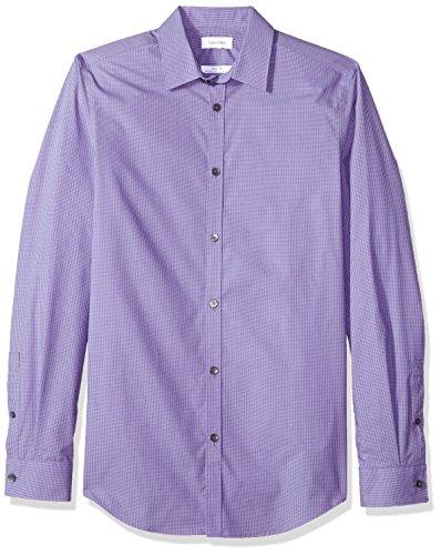 Button Micro Check Shirt - 9