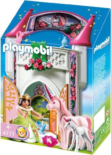 playmobil 4777 jeu de construction donjon de la licorne transportable amazonfr jeux et jouets