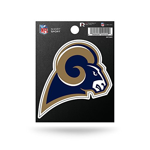 - Rico Industries NFL Los Angeles Rams Die Cut Team Logo Short Sport Sticker