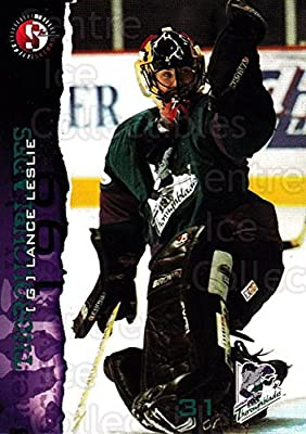 (CI) Lance Leslie Hockey Card 1996-97 Kentucky Thoroughblades 11 Lance Leslie