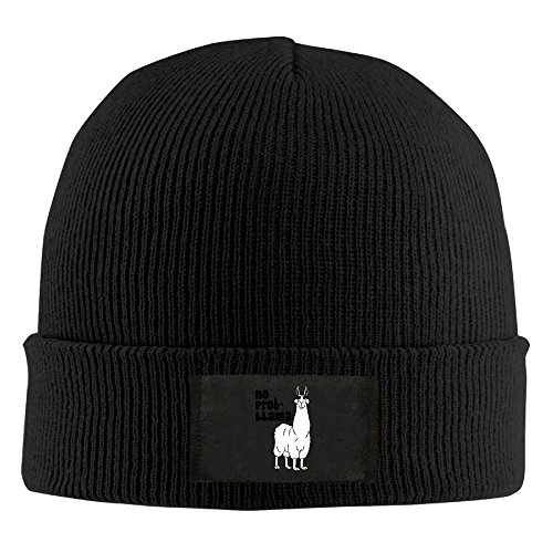 Funny Llama Animal Toboggan Hat Slouchy Beanie Winter 2016 Ski Hat BaseballCap BeanieHat