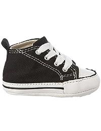 Converse First Star Hi Black 8J231 Crib Size 4