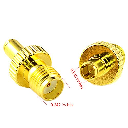 chic SMA Female Plug to TS9 Male Plug RF Coax Connector