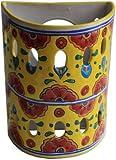 Canary Talavera Ceramic Sconce