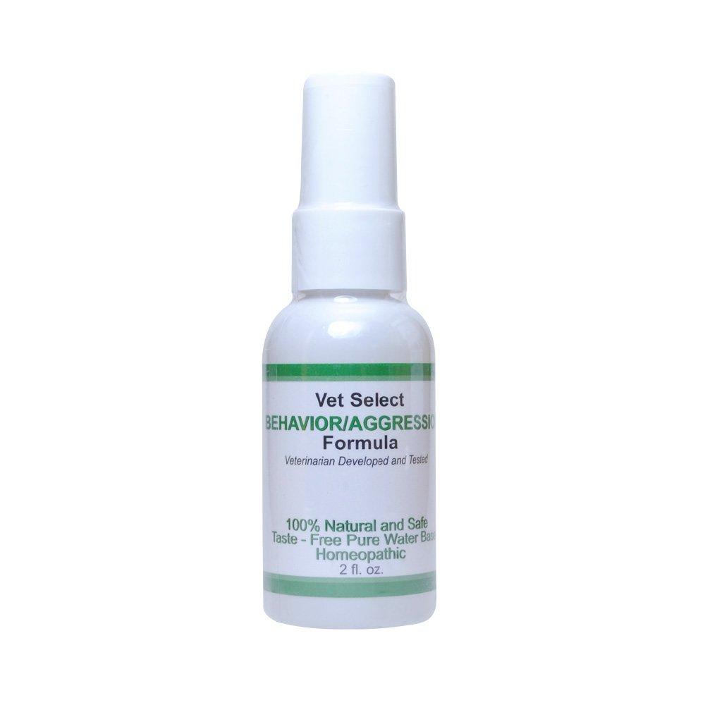 Allergic Pet Vet Select Behavior/Aggression All-Natural Herbal Spray - Helps Calm Aggressive Pets - 2 oz Herbal Spray