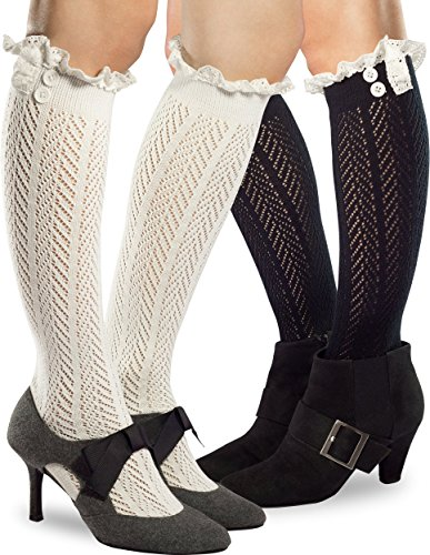 Premium Quality Knee High Boot Socks in Gift Bag ? Fiorelle Boutique Brand