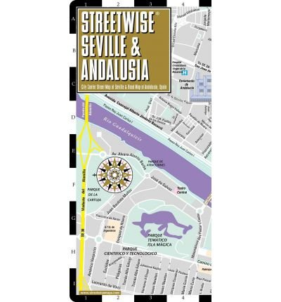 Streetwise Seville Map - Laminated City Center Street Map of Seville, Spain & Andalusia: Folding Pocket Size Travel Map (Streetwise (Streetwise Maps)) (