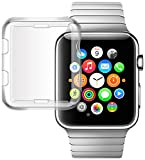 IOVECT iwatch 3 Case [38mm] TPU All-around 0.3mm Full Cover for New Apple Watch Series 3(2107) image