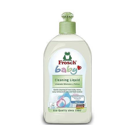 Frosch baby Natural - Jabón lavar platos y limpieza - 500 ml ...