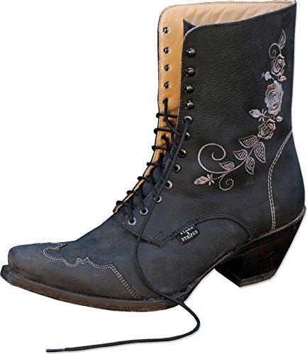Stars & Stripes Damen Western-Boots »ROSI« Schwarz