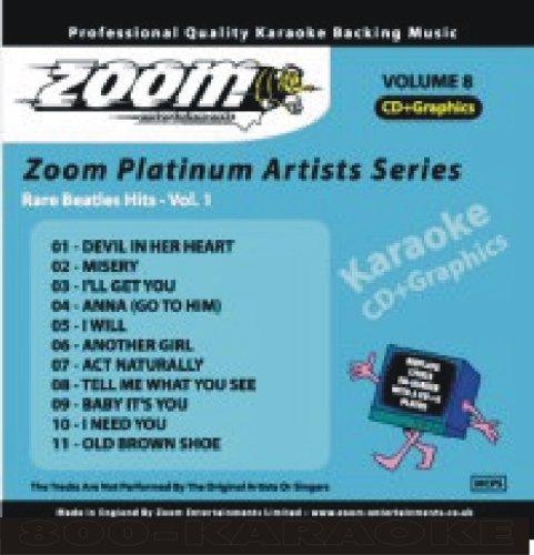 - Beatles 11 Rare Songs Hits Karaoke CDG ZMAG008
