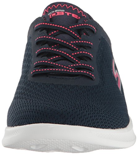 Mesh Pink Step Go LITE Skechers Agile Women's Navy Shoes xU8wawgq
