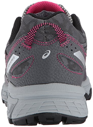 ASICS Women's Gel-Venture 6 Running-Shoes,Carbon/Black/Pink Peacock,9 Medium US by ASICS (Image #2)