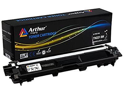 Arthur Imaging Compatible Toner Cartridge Replacement for Brother TN221 TN225 Series