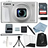 Canon Powershot SX730 HS Bundle (Silver) + Basic Accessory Kit – Including EVERYTHING You Need To Get Started For Sale