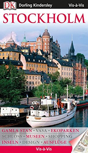 Vis a Vis Reiseführer Stockholm mit Extra-Karte (Vis à Vis)