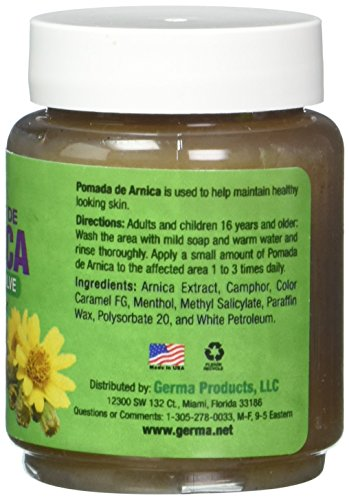 Arnica Ointment Black 2 Oz Pomada Arnica Salve Negra Import It All