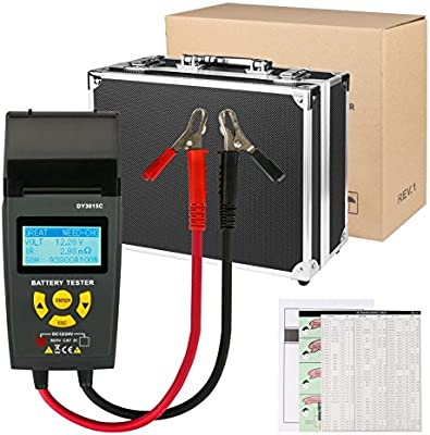 Probador de batería de coche rápido 12V / 24V 100-1700 CCA IEC EN ...