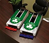 Victory Tailgate Boston Celtics NBA Desktop Mini Cornhole Game Set