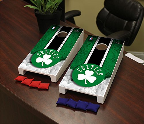 Victory Tailgate Boston Celtics NBA Desktop Mini Cornhole Game Set by Victory Tailgate