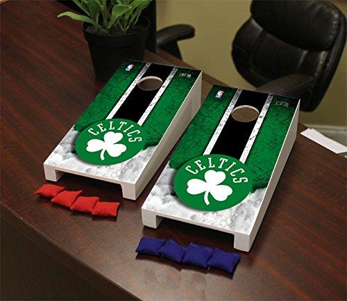 Victory Tailgate Boston Celtics NBA Desktop Mini Cornhole Game Set