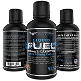 AFN L Carnitine-1200 MG B12-12 MCG Liquid Fuel will help Burn Fat and Boost energy 100 MG of Coq10 for Heart Health and (32 Servings) No... Proprietary blends