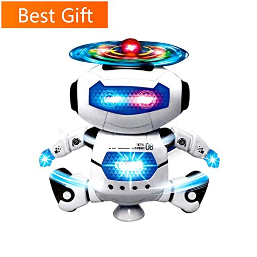 Hohaski Electronic Robot Toys for Boys Girls, Dancing, Walki