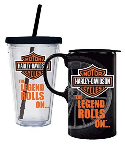 Harley-Davidson Bar & Shield Logo Hot & Cold Drinkware Set, 2 Pack, P4214900LEG