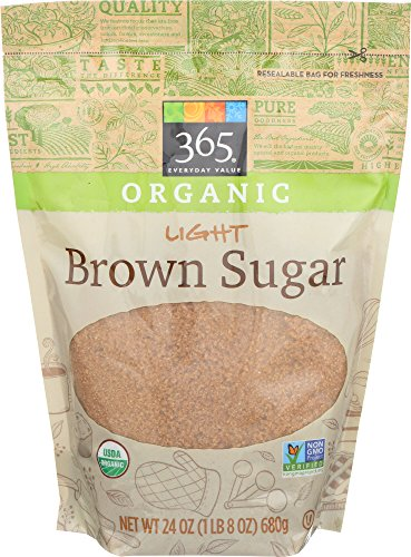 Organic Brown Sugar - 365 Everyday Value, Organic Light Brown Sugar, 24 oz