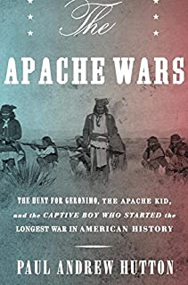 Book Cover: Lords of Apacheria Mickey Free, the Hunt for Geronimo and the Apache Kid, and the Longest War in American History.