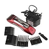 SRI Professional Super Powerful Pet Clipper Red