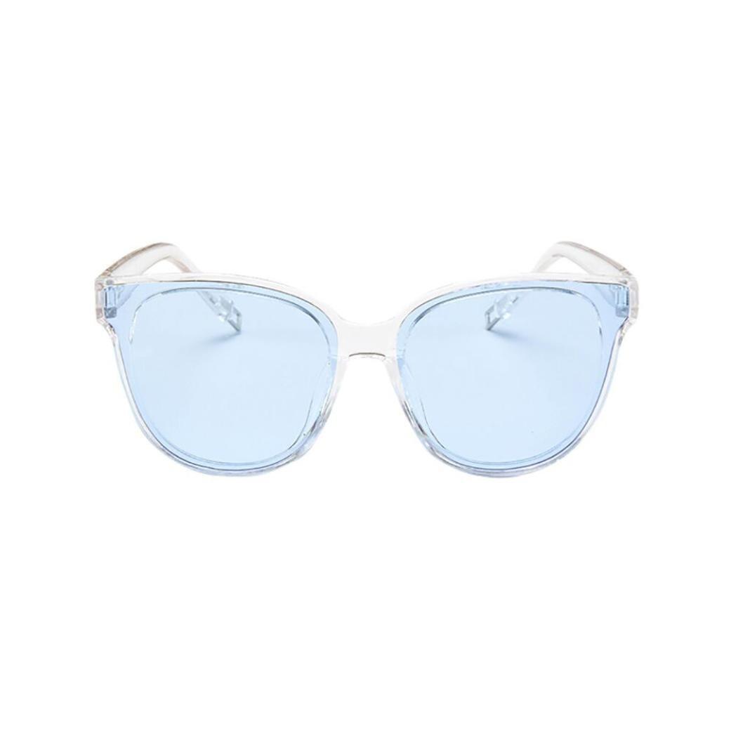 Dainzuy Oversized Sunglasses for Women, Cat Eye Sunglasses,Fashion Mirrored Sunglasses (as picture show, Multicolor F)
