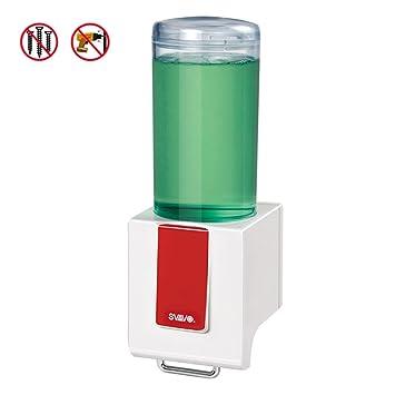 Montaje en pared,Dispensador manual del jabón,Dispensador de jabón infantil,Máquina desinfectante de la mano Cocina Inicio Jabón de mano Box de ducha ...