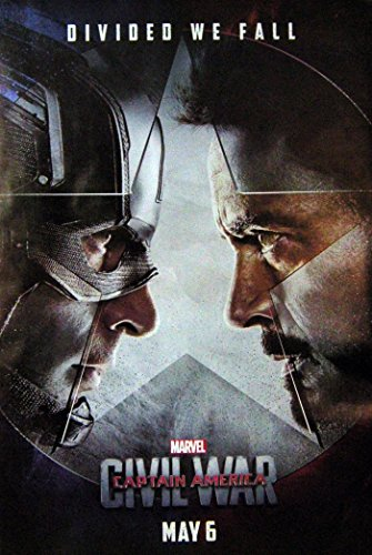 Marvel Civil War Superhero Movie Image Print Poster Size 24 x35 S-0515
