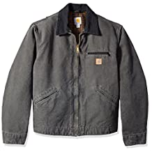 Carhartt mens Big & Tall Blanket Lined Sandstone Detroit Jacket J97