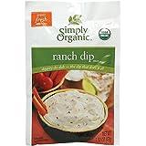 Simply Organic Dip Mix Ranch Org