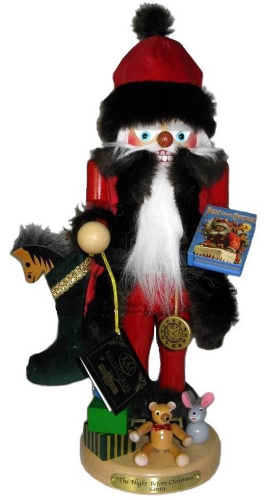 2012 SIGNED KARLA STEINBACH NUTCRACKER *Night Before Christmas* 1ST IN SERIES